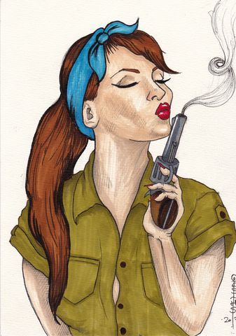 Girl with Gun